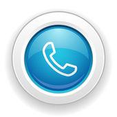 Telefon ikony — Wektor stockowy