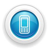 Ikony telefonu — Wektor stockowy