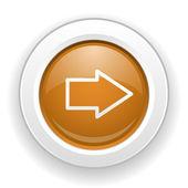 значок стрелки — Cтоковый вектор