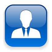 Businessman icon — Stock Vector