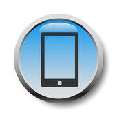 Ikona telefonu komórkowego — Wektor stockowy