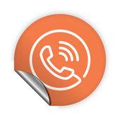 Phone icon — Vetorial Stock