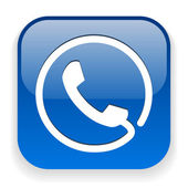 L'icône du téléphone — Vecteur