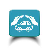 Car care icon — Stock Vector