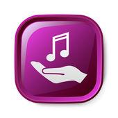 Music icon — Stock Vector