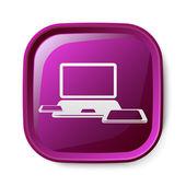 Computer icon — Stock vektor