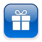 Gift icon — Stock Vector