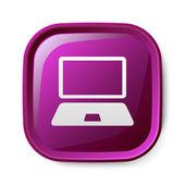 Computer icon — Stockvektor