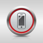 Mobile icon — Stockvector