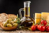 Oliven öl — Stockfoto