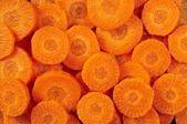 Carrots slices — Stock Photo