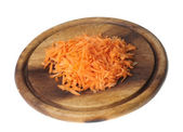 Grated carrot — Stock Photo