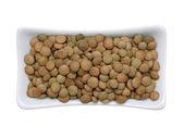 Yellow lentils — Stock Photo