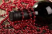 κρασί και μαργαριτάρια — Φωτογραφία Αρχείου