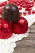 Chocolate praline — Stock Photo
