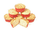 Low calorie muffins — Stock Photo