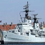 Old Danish Battleship — Stock Photo #51618357