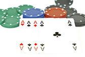 Card game and gambling — Stock Photo