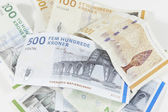 Danish currency — Stock Photo