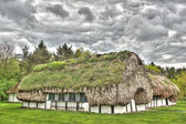 Old scandinavian farm in HDR — Stock Photo