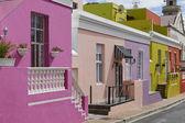 Colourful buildings in Bo-Kaap — Stock Photo