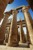 Columns in Karnak Temple Complex — Stock Photo