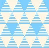 Bezešvé klasický geometrický vzor v pastelově. — Stock vektor