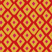 Folk abstract seamless pattern — Stock Vector