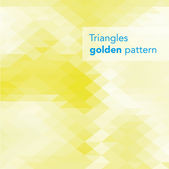 Colorful triangles gradient pattern — Stock Vector