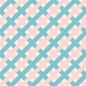 Seamless classic geometric pattern in pastel. — Stock Vector