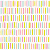 Abstract seamless pattern with multicolored lines — Stock Vector