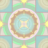 Soft colored ornament background — Vector de stock