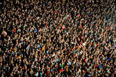 People at concert — Stock Photo