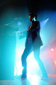 The Script band performs — Stock Photo