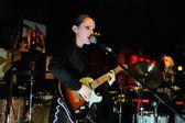 Anna Calvi band performs — Stock Photo