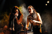 Kitty, Daisy and Lewis  performs — Stock Photo