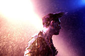 Patrick Wolf performs — Stock Photo