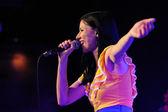 Delafe y las Flores Azules concert — Stock Photo