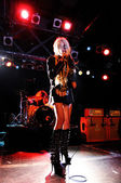 Taylor Momsen performs — Stock Photo