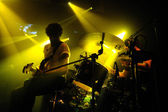 Japandroids band performs — Stock Photo