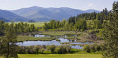 Paradise Valley Bonners Ferry North Idaho — Stock Photo
