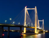 Pasco Bridge at Night — Stock Photo