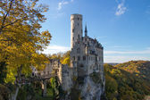 Castle Lichtenstein in Germany — Stock Photo