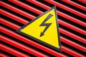 Símbolo de peligro — Foto de Stock