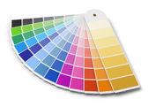 Výběr palety barev PANTONE