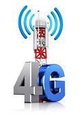 4g Bezdrátové komunikační koncept