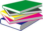 Vector Books in color 04