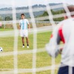 Постер, плакат: Soccer Penalty Kick