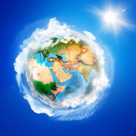 Постер, плакат: Planet Earth, холст на подрамнике