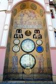 Staré astronomické hodiny v Olomouci, Česká republika